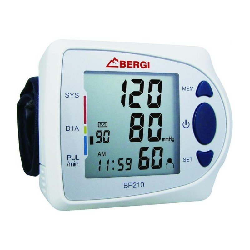 Model: BP 210 Automatyczny Ciśnieniomierz Nadgarstkowy 3-ciej