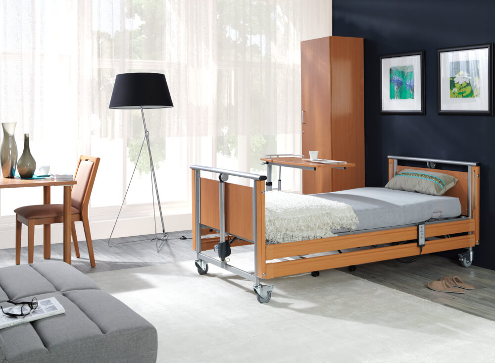 Łóżko rehabilitacyjne z wysięgnikiem PB 326_2