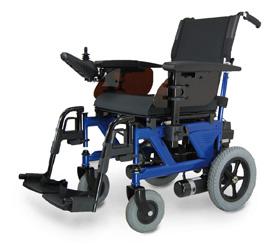 Elektryczny, kompaktowy wózek inwalidzki Pride R1